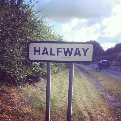 halfway